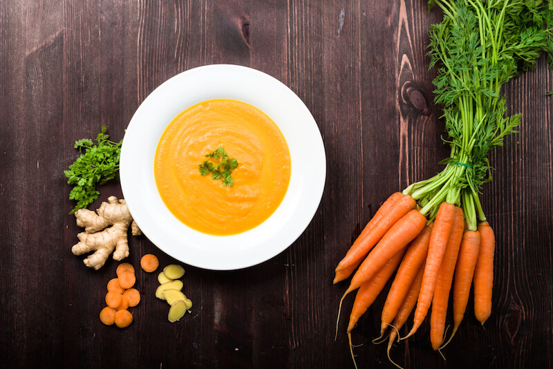 Cozy Up With This Anti-Inflammatory Turmeric-Spiced Carrot Soup This Fall